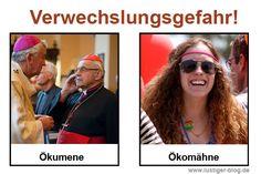 Hurra, hurra, der Papst ist da. Anlässlich des Papstbesuchs in Deutschland haben wir uns kritisch mit dem Nebeneinander der Religionen auseinandergesetzt. Wir
