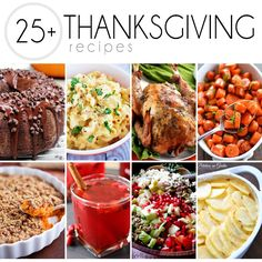 From veggies and sides to drinks and desserts, and of course the star of the show, the turkey, here are Over 25 of The Best Thanksgiving Recipes.