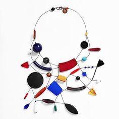Lora Nikolova, jewelry as art and creativity, expression of a vision introspective and abstract innovative design entirely made in Italy.