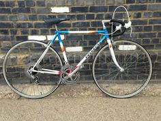 PEUGEOT RACE BIKE WHITE / RED / BLUE SMALL 51CM  FRAME EXCELLENT CONDITION Finsbury Park Picture 1