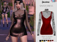 lynxsimz - shush dress - The Sims 4 Sims 4 Mac, Sims Cc, Sims 4 Mods Clothes, Sims 4 Clothing, Sims 4 Cas Mods, Sims 4 Black Hair, The Sims 4 Pc, Cc Fashion, Sims 4 Dresses
