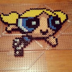 PPG Bubbles perler beads by katiestrutt