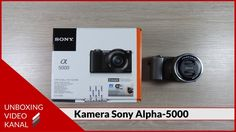 Unboxing Video über die Kamera Sony Alpha 5000 #unboxingvideo #kamera #sonyalpha5000