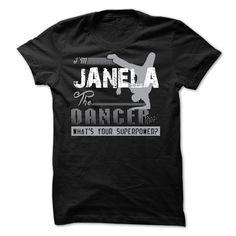 If your name ⑥ is JANELA then this is just for ① youThis shirt is a MUST HAVE. Choose your color style and Buy it now!JANELA
