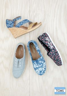 TOMS new arrivals are finally here. Click to shop your favorite styles that give back in a big way.