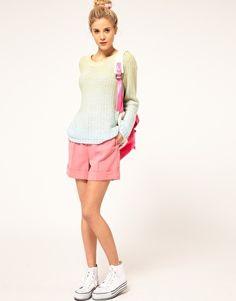 dip-dye a cotton sweater