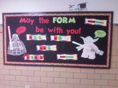 Music Classroom Bulletin Boards: May the FORM be with you!