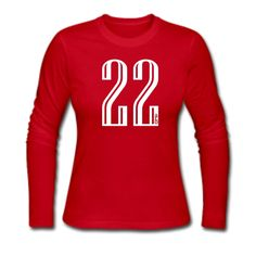 "A ""22"" T-shirt! I LOVE it!!  Is that my number??? YESSSSSSSSSSIR!!!"