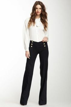 Melody Sailor Wide Leg Trouser
