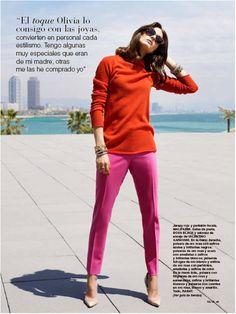 The Olivia Palermo Lookbook : Olivia Palermo For Telva