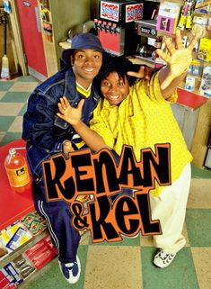 Kenan & Kel is an American teen comedy sitcom produced by Kevin Kopelow and Heath Seifert that originally aired on Nickelodeon from July 1996 to July. 90s Tv Shows, Childhood Tv Shows, Movies And Tv Shows, Rap, 90s Movies, Movie Tv, Kenan E Kel, Telenovelas Online, Ver Series Online Gratis