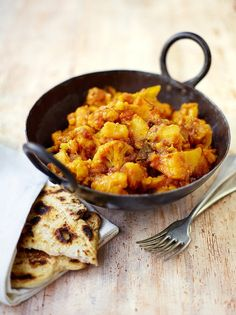 Potato & cauliflower curry | Jamie Oliver