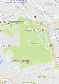 14 Best Griffith Park Map ideas images