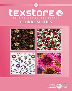 Vol 12 - Floral Motifs: Inspirational Graphic Design For Fashion and Interiors