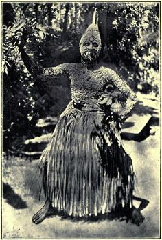 Malayan Devil Dancer, Castes and Tribes of Southern India (1909)