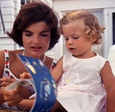 "Jackie would never usually scold her children, preferring instead to give them what they called ""the look."" When Caroline was asked to recreate said ""look"" she scoffed and protested, declaring that she ""couldn't possibly."" Although it was subtle, the children ""knew it when [they] saw it."" Caroline said that she would joke about it with John regularly."