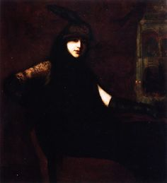 The Athenaeum - Portrait of a Lady (Lilla Cabot Perry - )
