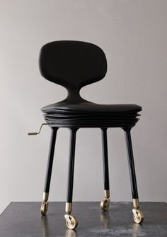 Home work chair, love this design and the combination of