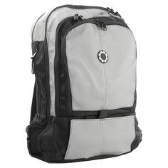 DadGear Backpack Diaper Bag - Professional Grey - BP-PR-GY