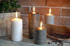 Svíčka kafe Pillar Candles, Taper Candles, Candles