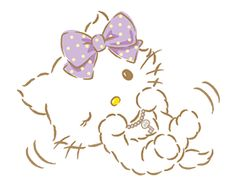 Charmmy Kitty joins LINE! Charmmy Kitty is Hello Kitty's white Persian cat. Make your messages super cute with Charmmy Kitty! Sanrio Hello Kitty, Sanrio Characters, Little Twin Stars, Line Sticker, Stickers, Red Ribbon, Cat Art, Aesthetic Wallpapers, Illustration Art
