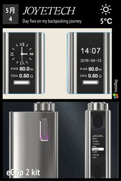 #JOYETECH #eGrip II Kit: Real Time Clock display #TFTA-tank  #dualbattery protection #NotchCoil 0.25ohm DL head #gamemode #7-color #led light More about it:(register to get 43% OFF) http://www.cacuqecig.com/en/joyetech-egrip-ii-kit.html #vaping #vapenation #ecig #Vapers #vapeon #vape #vapefamily #vapefam  #ecigcompany #work #vaporboss #vapeboss #vapelife #teamvape #vapebar #vapeshop #vapestore #vapewholesale #ecigexpo #VaperExpoUK