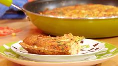 Try this spicy Frito Fritatta - with ham, pepper, tomato and Frito chips. Hot sauce and Pepper Jack cheese add more delicious spice to the dish! Light Recipes, Egg Recipes, Brunch Recipes, Great Recipes, Breakfast Recipes, Favorite Recipes, Italian Recipes, Mexican Food Recipes, Good Food