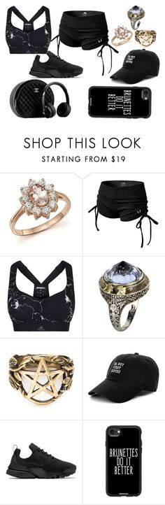 """""""Untitled #836"""" by kaittyclearance-grytherin ❤ liked on Polyvore featuring Bloomingdale's, adidas, Vintage, Pamela Love, Body Rags, NIKE, Chanel and Casetify"""
