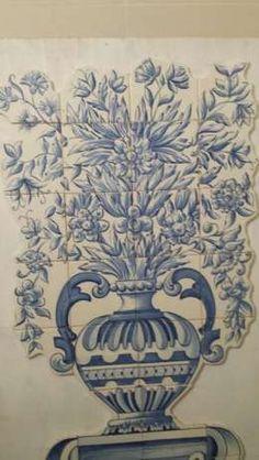 Painel de azulejos pintado à mão Campolide - imagem 3