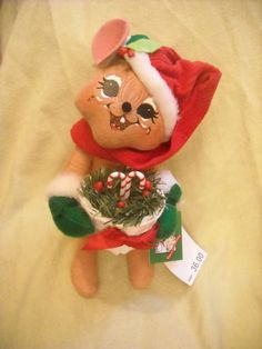 NEw Annalee doll mouse decoration christmas decoration was $36 in store! $20