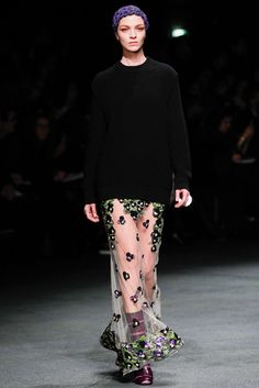 Givenchy Sheer Pansies