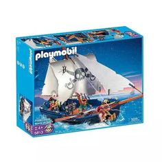 Playmobil 5810 Set De Barco Pirata - $ 2.999,99