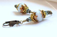 Italian Renaissance Crystal Fashion Earrings by LunaEssence, $24.95
