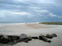 Beach at Ft. Clinch State Park on Amelia Island, FL