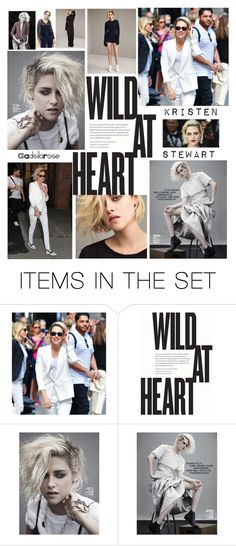 """""""Contest Announcement: Girl Crush"""" by adsilarose ❤ liked on Polyvore featuring art, kristenstewart and FangirlsDomain"""