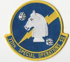 US AIR FORCE PATCH - 711TH SPECIAL OPERATIONS SQUADRON