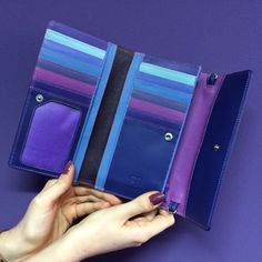 purple, violet and mauve hues