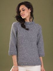 New Clothes Knitting Patterns - Confidence Pullover Knit Pattern