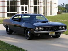 1971 Plymouth Hemi Cuda Triple Black