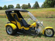 EA81 into wild VW trike