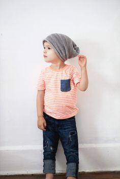 slouchster hats  I thought AJ might like this haha.... You should totally dress your children like this someday!