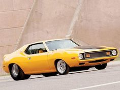 Vintage Motorcycles Muscle 1973 AMC Javelin - The Mango Gambler - Classic Muscle Car - Car Craft Magazine Amc Javelin, Old Muscle Cars, American Muscle Cars, Plymouth, Ford Mustang, Dodge, Jeep, Vintage Cars, Retro Vintage