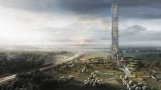 Danish architecture firm Dorte Mandrup have designed what will be the tallest skyscraper in Western Europe. The proposed site will surprise you: a rural village in Denmarks' Jutland Peninsula. Brande, Big Building, Building Sketch, Muscle Building, Building Ideas, Thing 1, Unique Buildings, Interesting Buildings, Europe