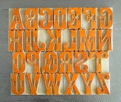 letterpress wood type Cool Typography, Typography Letters, Typography Design, Logo Design, Lettering, Graphic Design Tips, Types Of Wood, Letterpress, Alphabet