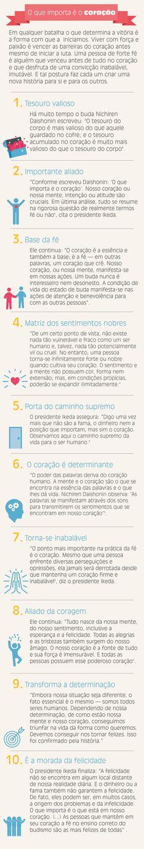 10 incentivos para você acreditar de vez que o que importa é o coração!