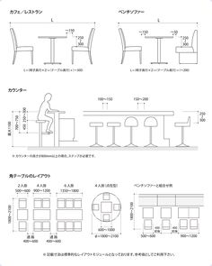 Proper height and spacing for dining Restaurant Layout, Restaurant Interior Design, Cafe Interior, Cafe Restaurant, Architecture Details, Interior Architecture, Restaurant Furniture, Cafe Design, Planer