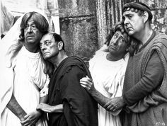 Phil Silvers, Buster Keaton, Jack Gilford, Zero Mostel– A Funny Thing Happened on the Way to the Forum