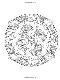 creative haven nature mandalas coloring book