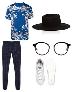 """""""Him"""" by style-di-prz on Polyvore featuring Converse, Dolce&Gabbana, Paul Smith, Yves Saint Laurent, Off-White, men's fashion y menswear"""