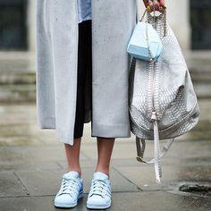 Adidas supercolor superstars | street style | blue